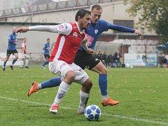 Fotbalová FORTUNA:NÁRODNÍ LIGA: FK Pardubice - FC MAS Táborsko.