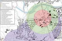 Plány evakuace Pardubic v případě nálezu bomby