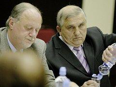 Ján Kasič (vpravo)