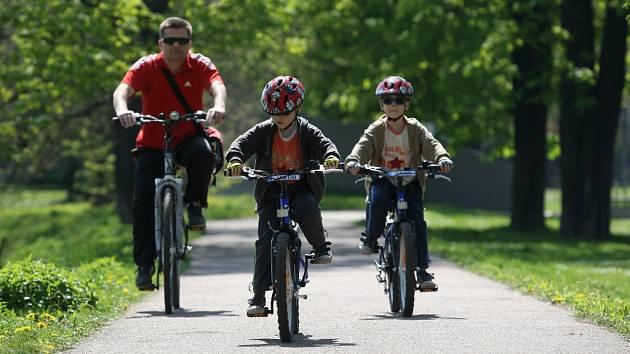 Cykloturistická sezona začíná.