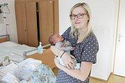 DAVID KVAČEK se narodil 1. února ve 3 hodiny a 16 minut. Vážil 3770 gramů, měřil 51 centimetrů.   Maminku Kateřinu podpořil u porodu tatínek David. Rodina bydlí v Pardubicích.