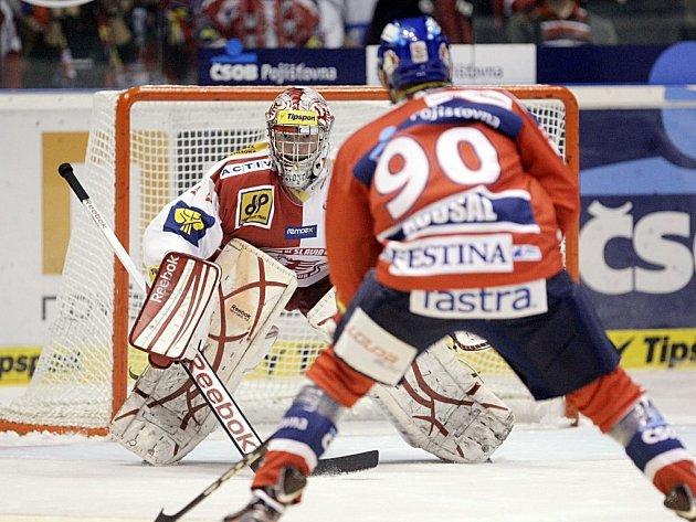 Z víkendu potřebují Pardubice šest bodů. Útok na ně začnou Robert Kousal a spol. dnes na Slavii, v neděli pak budou od 17 hodin hostit Karlovy Vary.