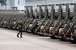 Pohotovost pro NATO drží v Pardubicích 169 vojáků a 120 kusů techniky