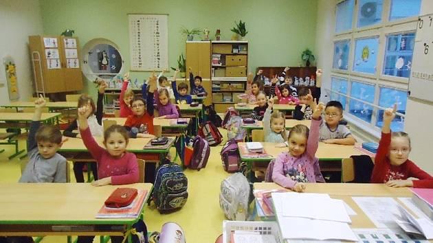 V základní škole Přelouč na Masarykově náměstí