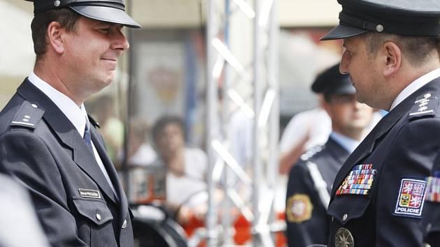 Marcel Procházka obdržel nejvyšší vyznamenání za statečnost za záchranu tonoucího chlapce.