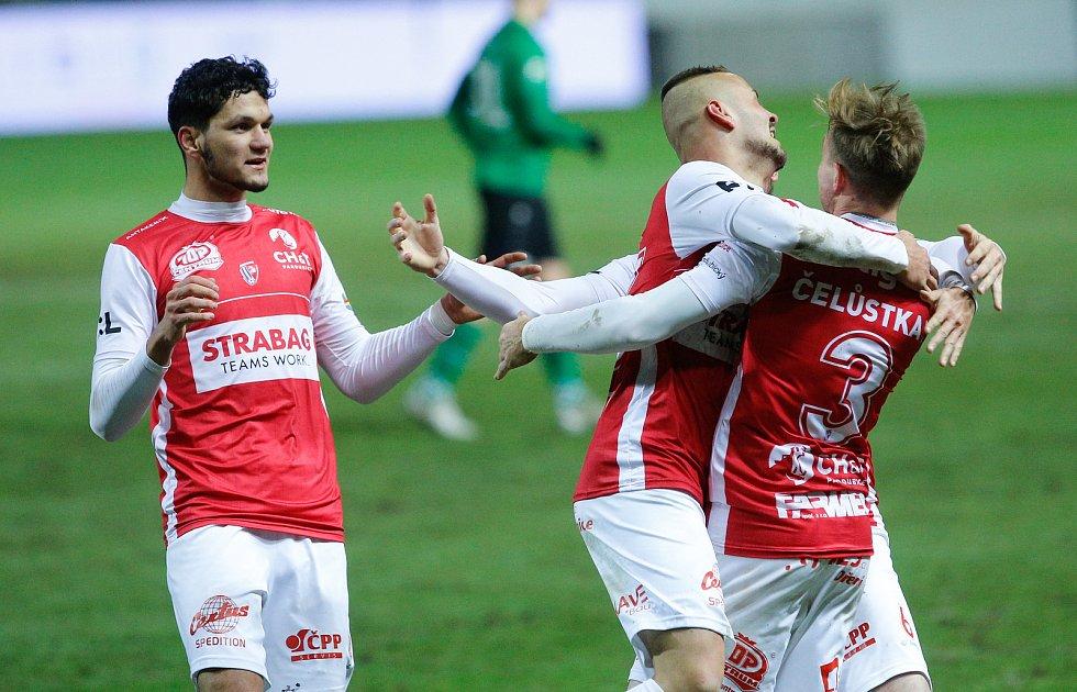 Fotbalová FORTUNA:LIGA: FK Pardubice - 1. FK Příbram.