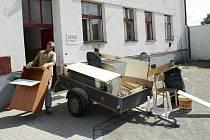 Exekuce bytu ve vnitrobloku Husova