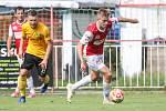 Fotbalová FORTUNA:NÁRODNÍ LIGA: FK Pardubice - FK Baník Sokolov.