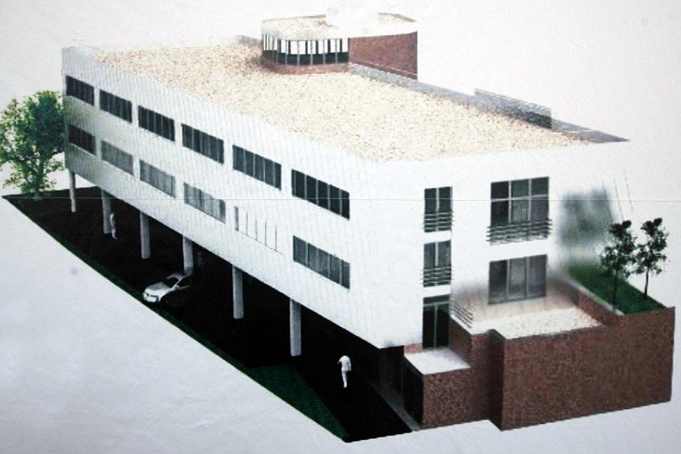 Do ledna 2011 by ve Sladkovského ulici mělo vyrůst Integrační centrum sociálních aktivit