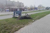 Cyklista na Dubině dojel...