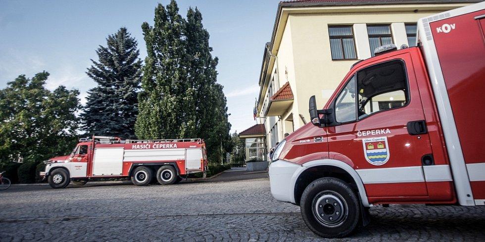 Sbor dobrovolných hasičů Čeperka.
