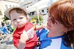 Den požární prevence na Pernštýnském náměstí v Pardubicích
