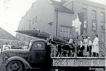 Prvomájové oslavy, rok 1959.