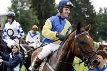 Jiří Kousek s koněm Aspirantem