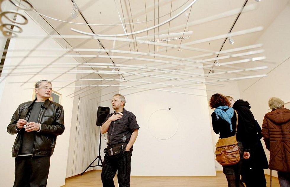 Výstava Karla Malicha v Holicích nese název Kamenecký kopec rájem