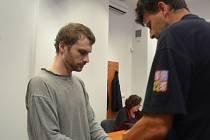 Obžalovaný před Krajským soudem v Pardubicích