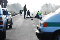 Smrtelná dopravní nehoda mezi Starým Mateřovem a Starými Čívicemi