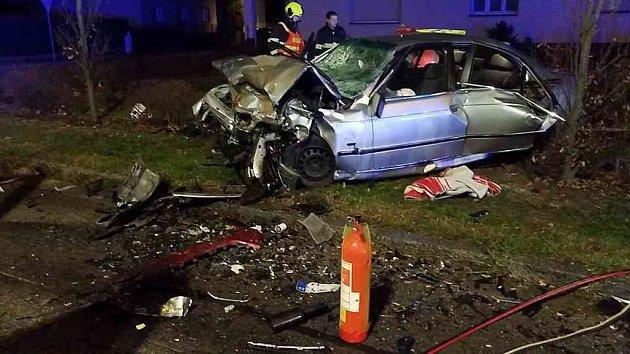 Tragická dopravní nehoda v Doubravicích.