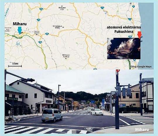 PADESÁT KILOMETRŮ OD FUKUŠIMY. Vradioaktivním nebezpečí se ocitlo partnerské město východočeského Žamberku, dvacetitisícové městečko Miharu vprefektuře Fukušima.
