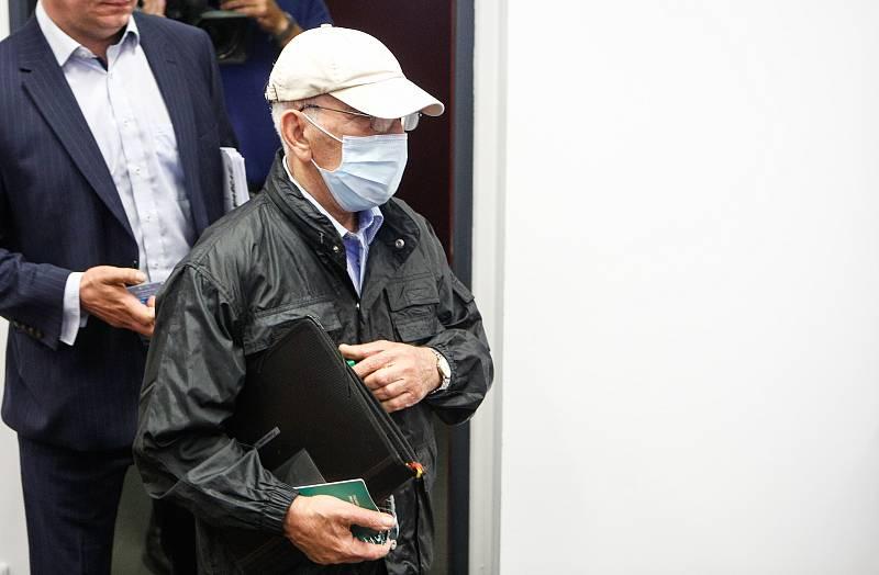 Mohammed Yousef Al Samarraie u Krajského soudu v Pardubicích.