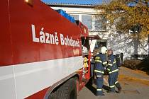 V bohdanečském Transformu hořela trafostanice.