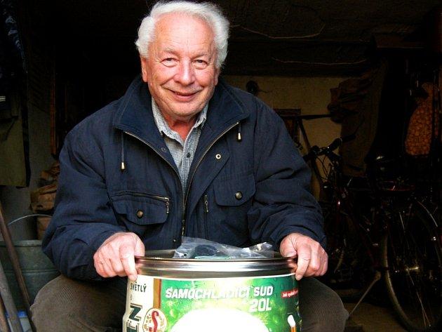 Vítěz prvního kola Tipligy čtenářů Pardubického deníku Stanislav Petr