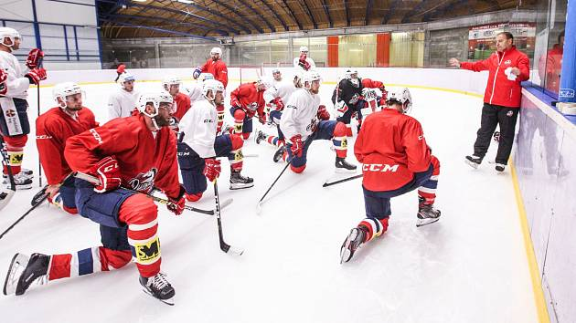 Hokejisté Pardubic se připravují na novou extraligovou sezonu.