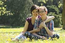 Martin Vencl s partnerkou Ditou.
