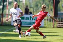 Fotbalové utkání ČFL: FK Pardubice B - TJ Sokol Živanice (ilustrační foto)