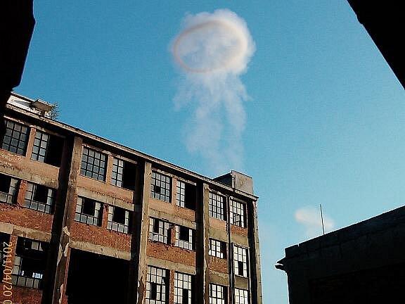 Po výbuchu byl vidět nad Semtínem i mrak