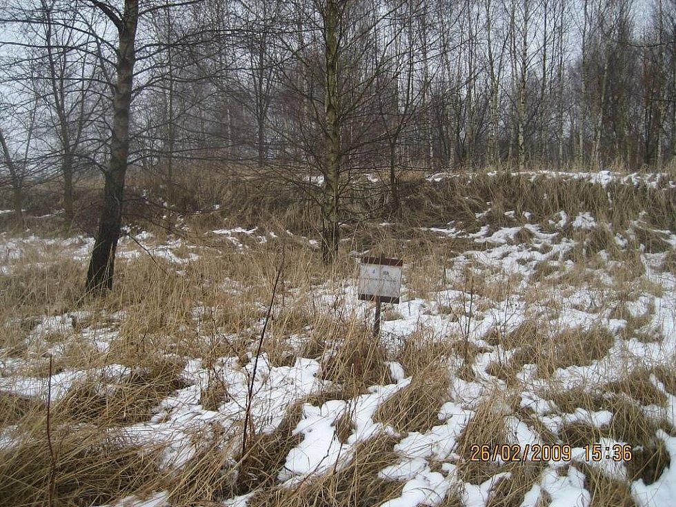 Původní stav pozemku před započetím stavebních prací