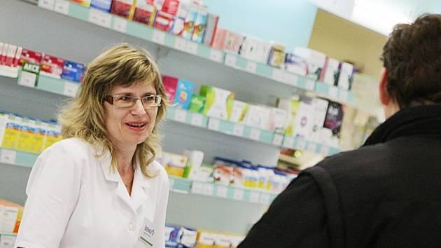 Lékárnice Marta Stuchlíková z Pardubicka