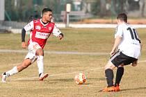 Fotbal - přípravné utkání: FK Pardubice - TJ Jiskra Ústí nad Orlicí