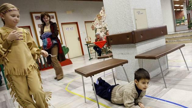 Sezemická škola lákala prvňáčky dobrodružným zápisem
