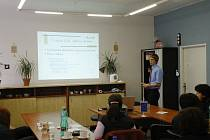 Konferenci o e-learningu uspořádala Střední odborná škola cestovního ruchu Pardubice.