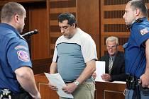 Ladislav Pešta před soudem