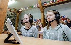Na Základní škole Bratranců Veverkových mají novou učebnu.