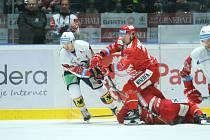 Hokejová extraliga - 49. kolo: Pardubice - Třinec 2:4