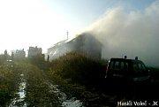 Volečtí hasiči likvidovali i požár v Pravech