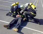 Ukázky práce hasičů pro žáky základní školy