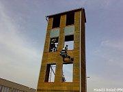 Výcvik na hasičské věži
