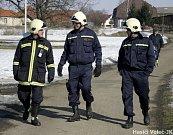 Zajištění masopustu v obci také měli na starost hasiči