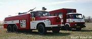 Cisternová automobilová stříkačka CAS 32 na podvozku T148