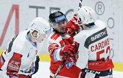 Hokejová extraliga: HC Dynamo Pardubice - HC Olomouc.
