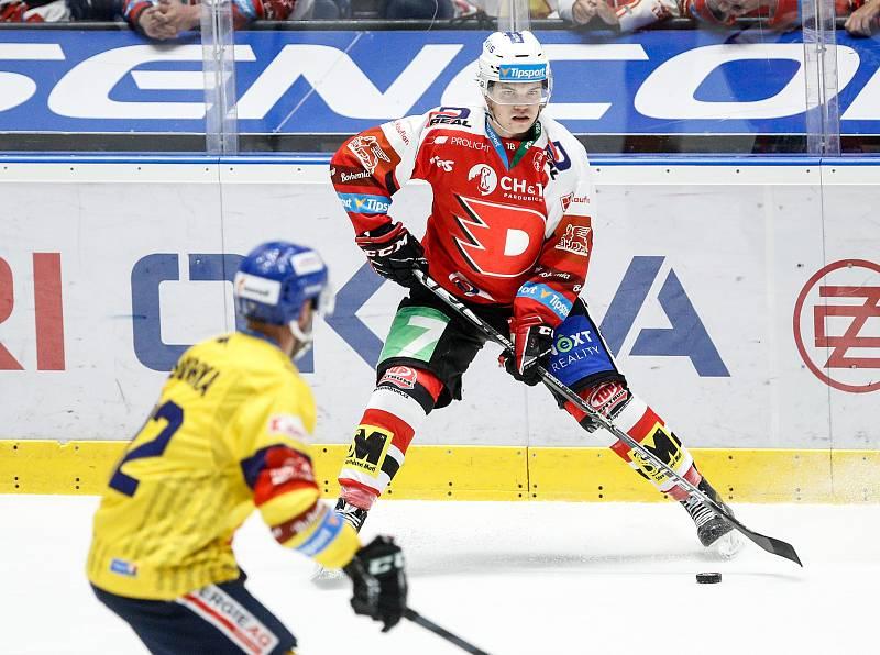 Hokejová extraliga - 7. kolo: HC Dynamo Pardubice - HC Motor České Budějovice