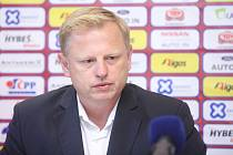 Předsezónní tisková konference FK Pardubice.