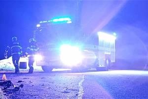 Dopravní nehoda u Chvojence