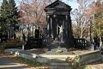 Hrobka Josefa Bindera na Ústředním hřbitově
