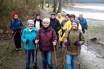 Projekt Jedeme dál je u seniorů oblíbený. I  proto, že procházky se odehrávají v okolí Boleveckých rybníků.