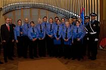 Slavnostního vyřazení třinácti nových strážníků se účastnil primátor Martin Zrzavecký a také velitel městské policie Plzeň Karel Mach